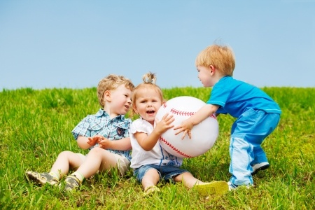 Startup founders fighting for equity sometimes look like toddlers fighting over a ball.